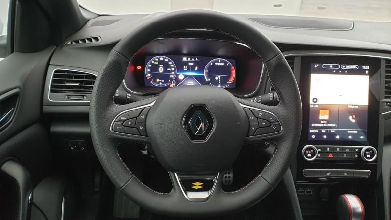 Renault Megane IV 1.5 blue dci 115cv edc rs line + affichage tete haute Blanc occasion à Ganges - photo n°13