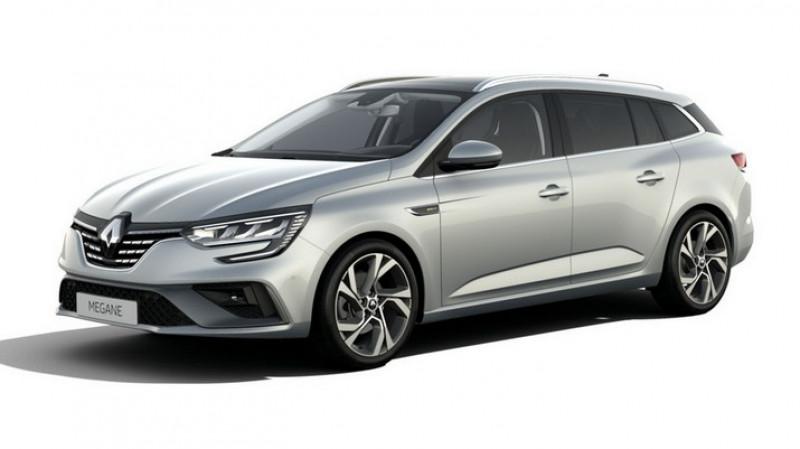 Renault Megane IV 1.5 blue dci 115cv edc rs line + pack easy park + toit pano Gris occasion à Ganges