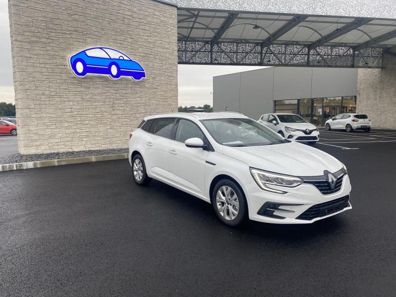 Renault Megane IV 1.6 E-TECH PLUG-IN 160CH BUSINESS Blanc occasion à Serres-Castet - photo n°6