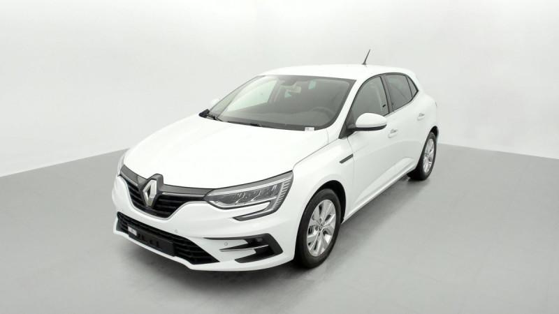 Renault Megane IV TCE 140 EDC FAP ZEN Blanc occasion à SAINT-GREGOIRE - photo n°3