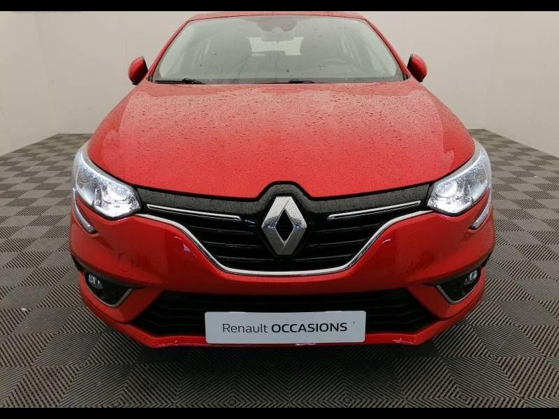 Renault Megane 1.3 TCe 115ch FAP Business 136g Rouge occasion à Aurillac - photo n°2