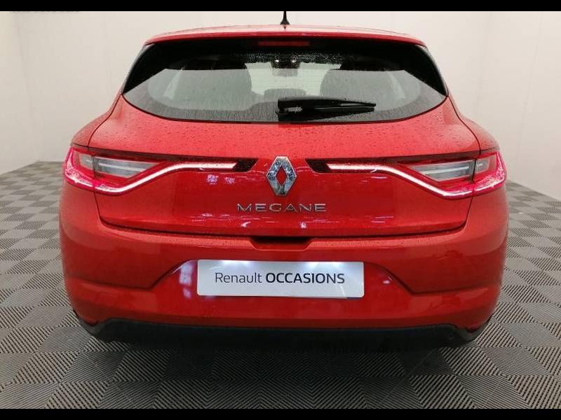 Renault Megane 1.3 TCe 115ch FAP Business 136g Rouge occasion à Aurillac - photo n°4