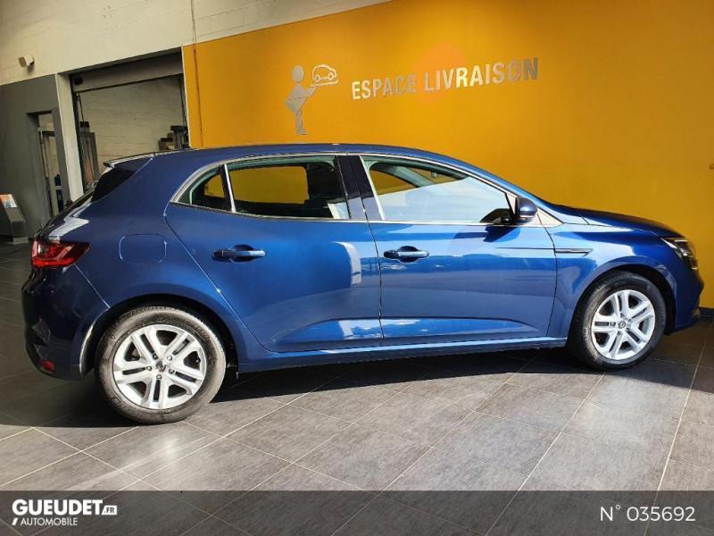 Renault Megane 1.3 TCe 140ch FAP Business Bleu occasion à Saint-Maximin - photo n°7