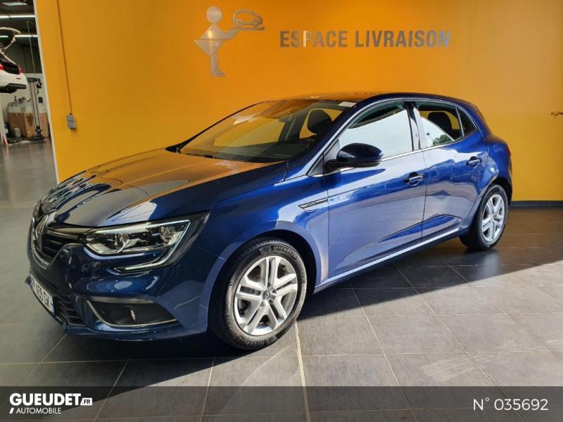Renault Megane 1.3 TCe 140ch FAP Business Bleu occasion à Saint-Maximin
