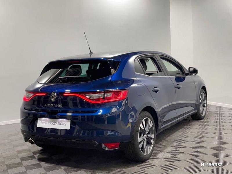 Renault Megane 1.3 TCe 140ch FAP Intens EDC Bleu occasion à Évreux - photo n°6