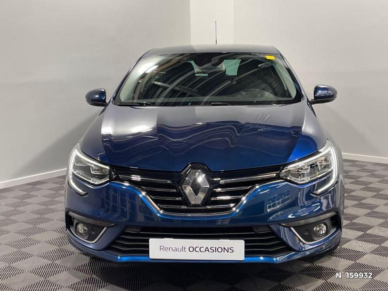 Renault Megane 1.3 TCe 140ch FAP Intens EDC Bleu occasion à Évreux - photo n°2