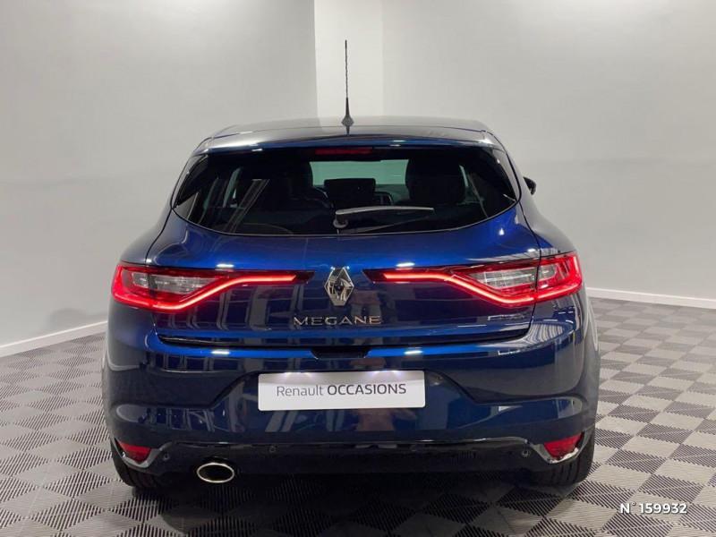 Renault Megane 1.3 TCe 140ch FAP Intens EDC Bleu occasion à Évreux - photo n°3