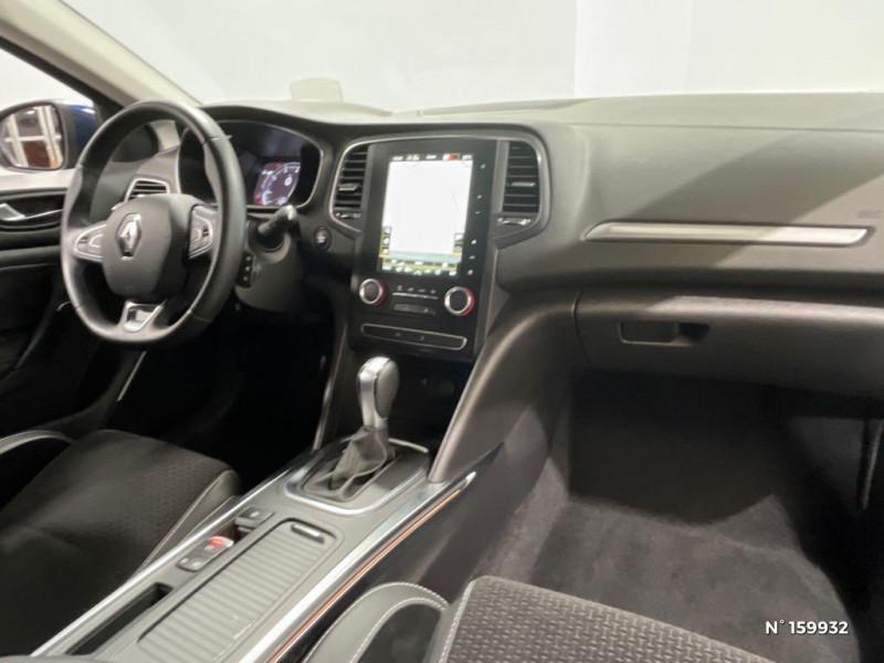 Renault Megane 1.3 TCe 140ch FAP Intens EDC Bleu occasion à Évreux - photo n°4