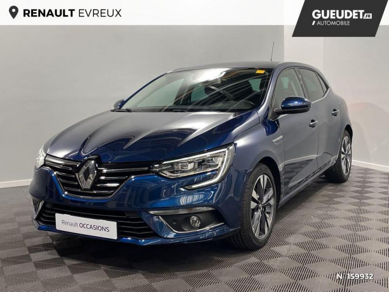 Renault Megane 1.3 TCe 140ch FAP Intens EDC Bleu occasion à Évreux