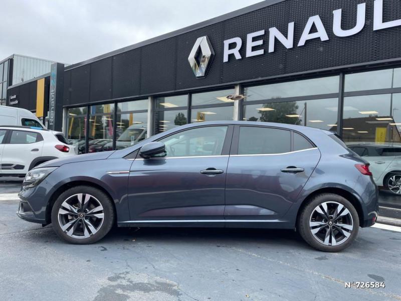 Renault Megane 1.3 TCe 140ch FAP Intens Gris occasion à Crépy-en-Valois - photo n°8