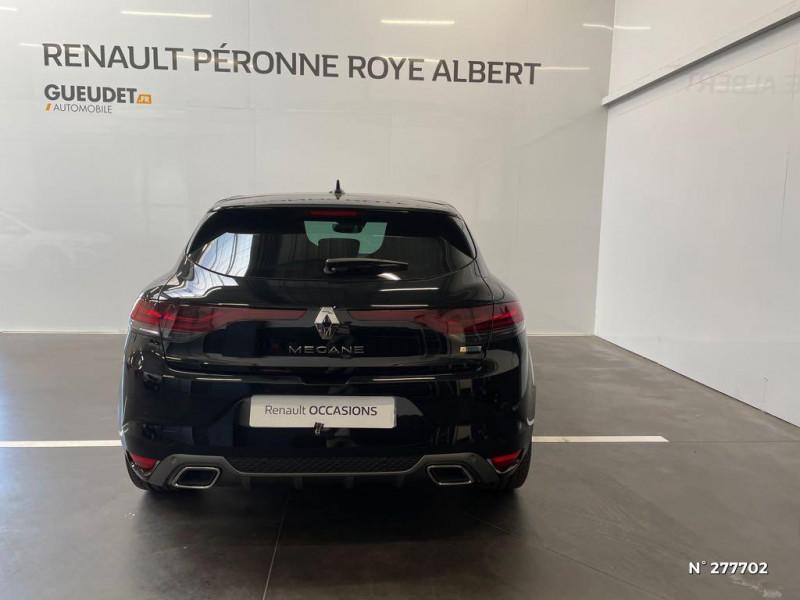 Renault Megane 1.3 TCe 140ch FAP RS Line EDC Noir occasion à Péronne - photo n°3