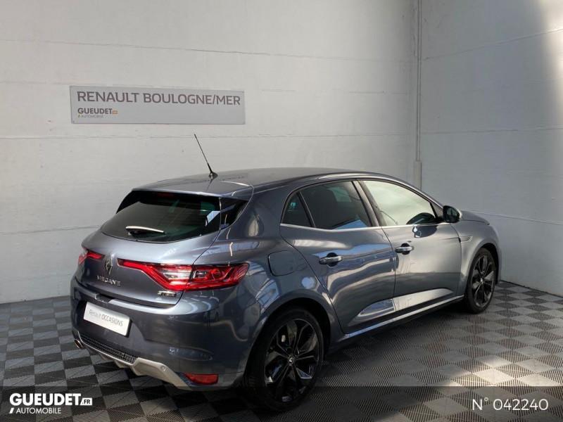Renault Megane 1.3 TCe 160ch FAP GT-Line EDC Gris occasion à Boulogne-sur-Mer - photo n°6