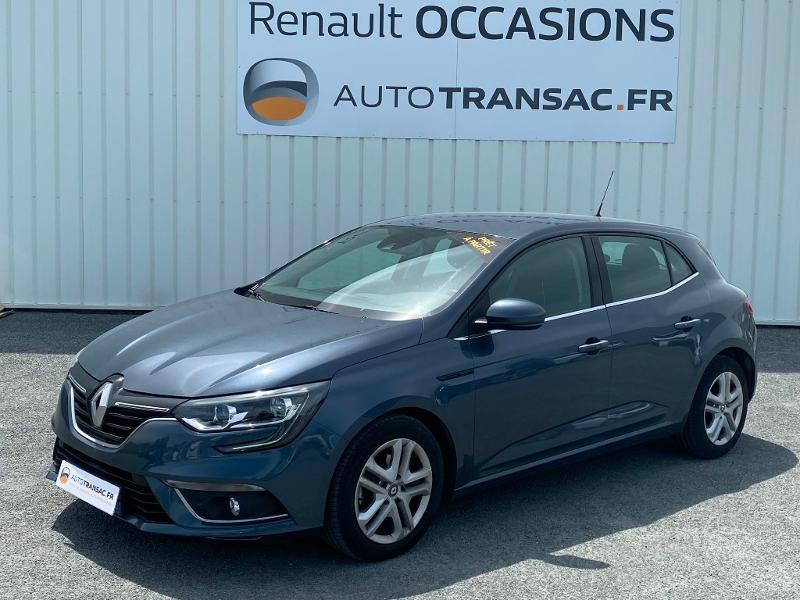 Renault Megane 1.5 Blue dCi 115ch Business EDC Gris occasion à Aurillac - photo n°3