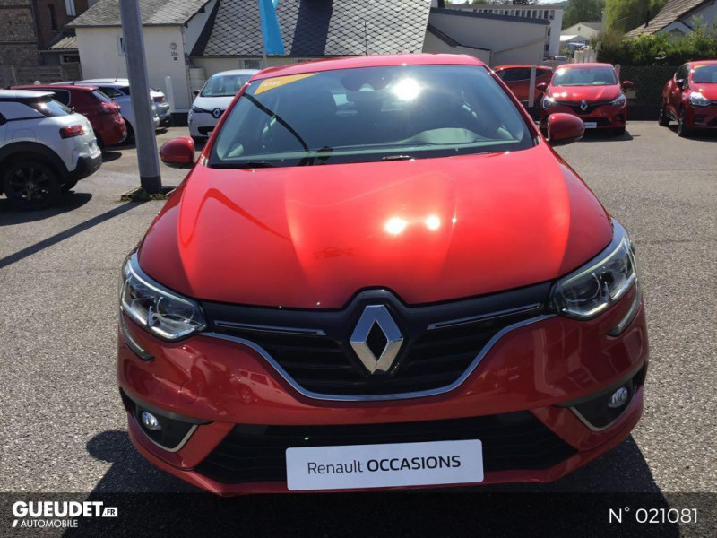 Renault Megane 1.5 Blue dCi 115ch Business EDC Rouge occasion à Fécamp - photo n°2