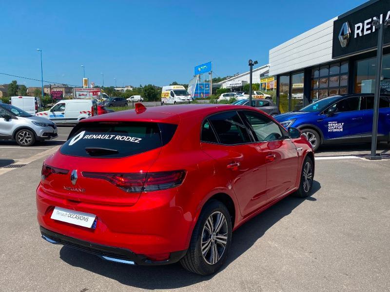 Renault Megane 1.5 Blue dCi 115ch Intens -21B Rouge occasion à Rodez - photo n°8