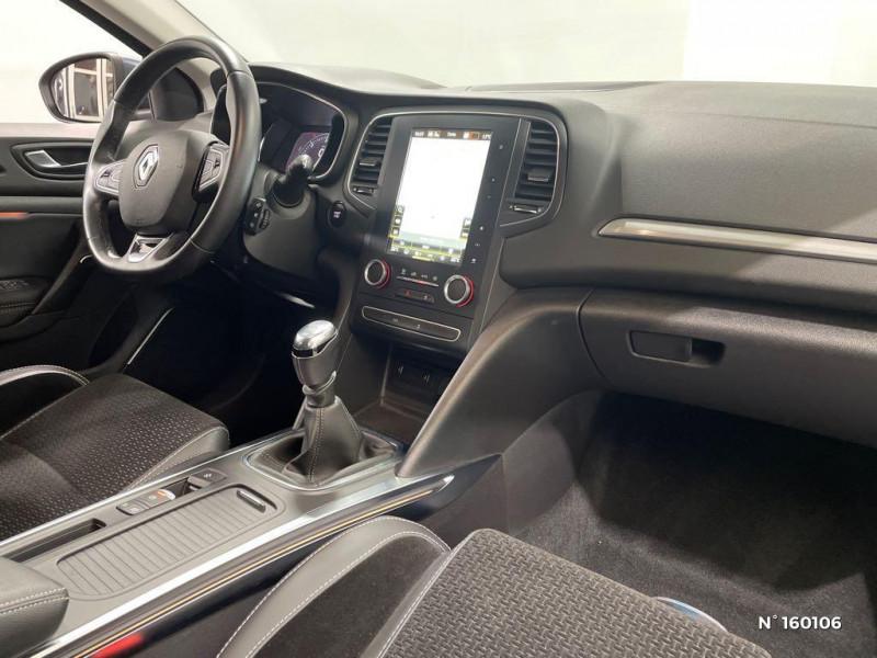 Renault Megane 1.5 Blue dCi 115ch Intens Gris occasion à Évreux - photo n°4