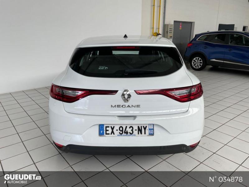 Renault Megane 1.5 dCi 110ch energy Air Nav Réversible Blanc occasion à Beauvais - photo n°3