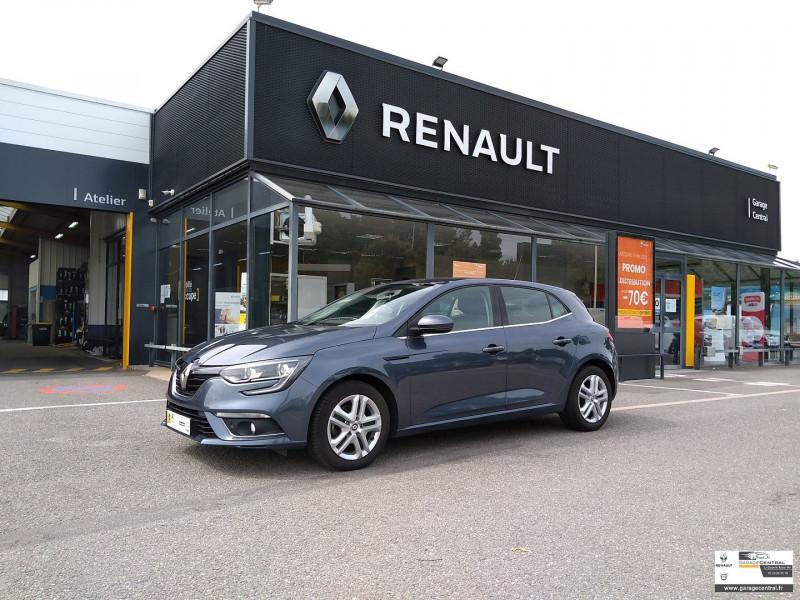 Renault Megane 1.5 DCI 110CH ENERGY BUSINESS Gris occasion à La Chapelle-Basse-Mer
