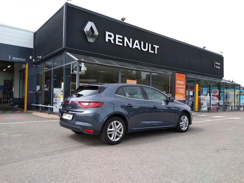 Renault Megane 1.5 DCI 110CH ENERGY BUSINESS Gris occasion à La Chapelle-Basse-Mer - photo n°2