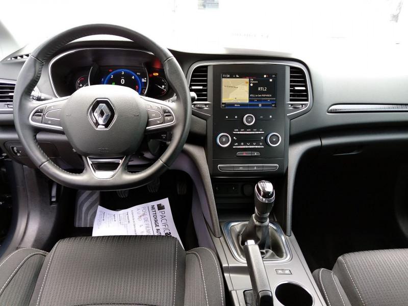 Renault Megane 1.5 DCI 110CH ENERGY BUSINESS Gris occasion à La Chapelle-Basse-Mer - photo n°4