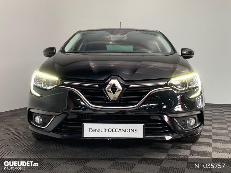 Renault Megane 1.5 dCi 110ch energy Limited EDC Noir occasion à Abbeville - photo n°2