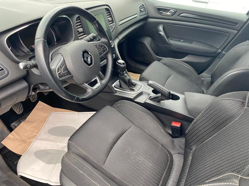 Renault Megane 1.5 dCi 90ch energy Business Blanc occasion à Figeac - photo n°4