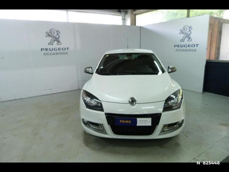 Renault Megane 1.5 dCi 90ch Limited eco² Blanc occasion à Avon - photo n°3