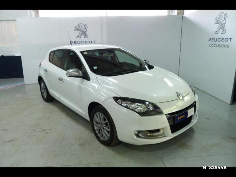 Renault Megane 1.5 dCi 90ch Limited eco² Blanc occasion à Avon - photo n°2