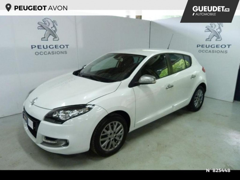 Renault Megane 1.5 dCi 90ch Limited eco² Blanc occasion à Avon
