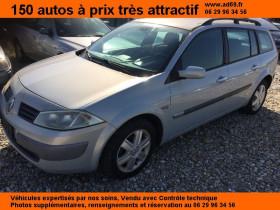 Renault Megane Gris, garage VOITURE PAS CHERE RHONE ALPES à Saint-Bonnet-de-Mure