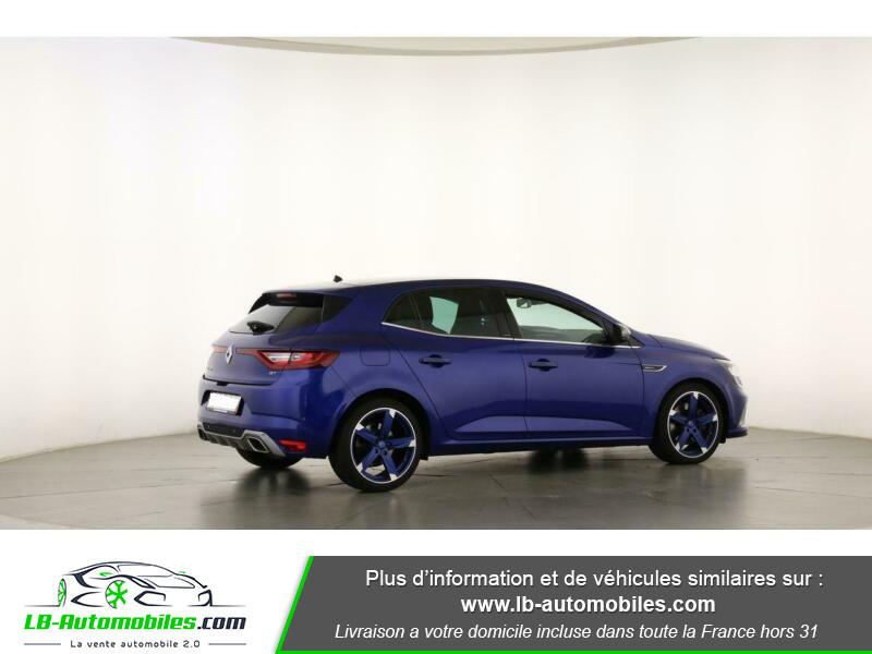 Renault Megane GT TCe 205ch Bleu occasion à Beaupuy - photo n°3
