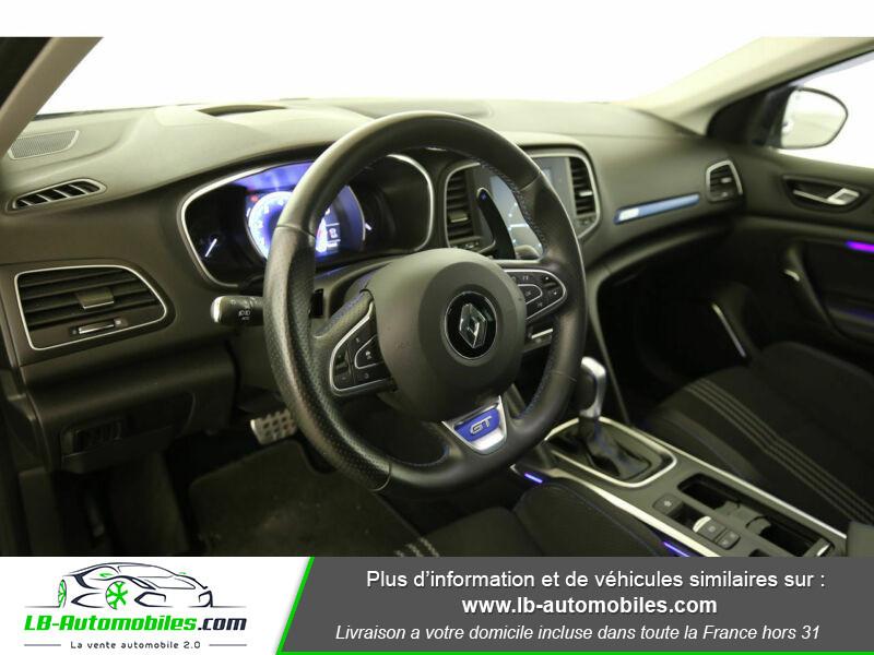 Renault Megane GT TCe 205ch Bleu occasion à Beaupuy - photo n°4