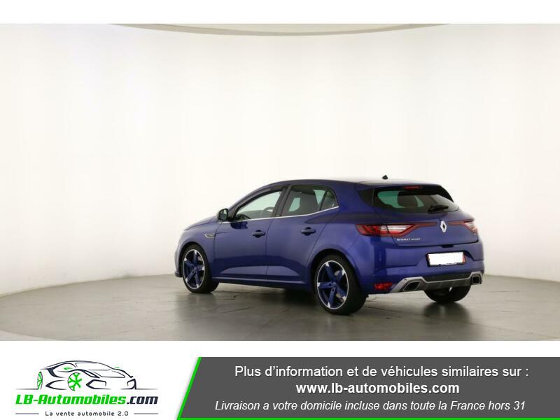 Renault Megane GT TCe 205ch Bleu occasion à Beaupuy - photo n°8