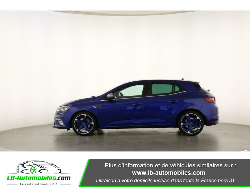 Renault Megane GT TCe 205ch Bleu occasion à Beaupuy - photo n°7