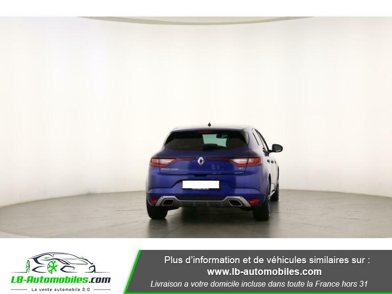 Renault Megane GT TCe 205ch Bleu occasion à Beaupuy - photo n°9