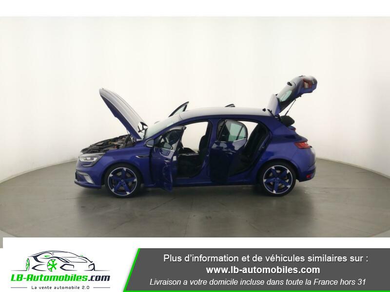 Renault Megane GT TCe 205ch Bleu occasion à Beaupuy - photo n°11