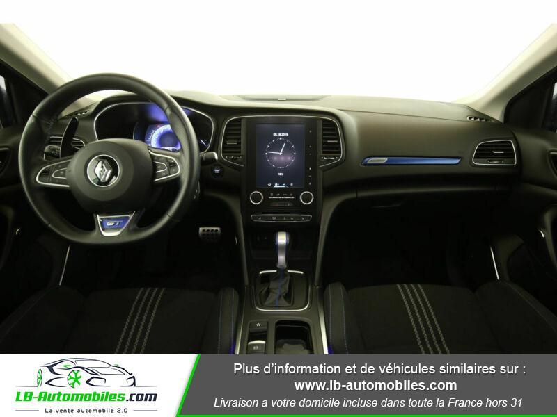 Renault Megane GT TCe 205ch Bleu occasion à Beaupuy - photo n°2