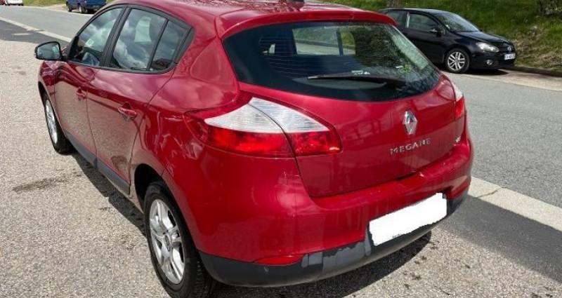 Renault Megane III PHASE 2 5P 1.5 DCI 110CH FAP S/S EXPRESSION + GPS Bordeaux occasion à ST BONNET LE FROID - photo n°3