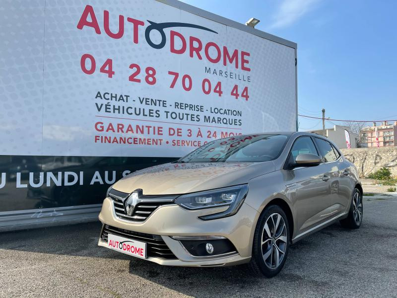 Renault Megane IV 1.2 TCe 130ch Intens EDC (Megane 4) - 41 000 Kms Beige occasion à Marseille 10