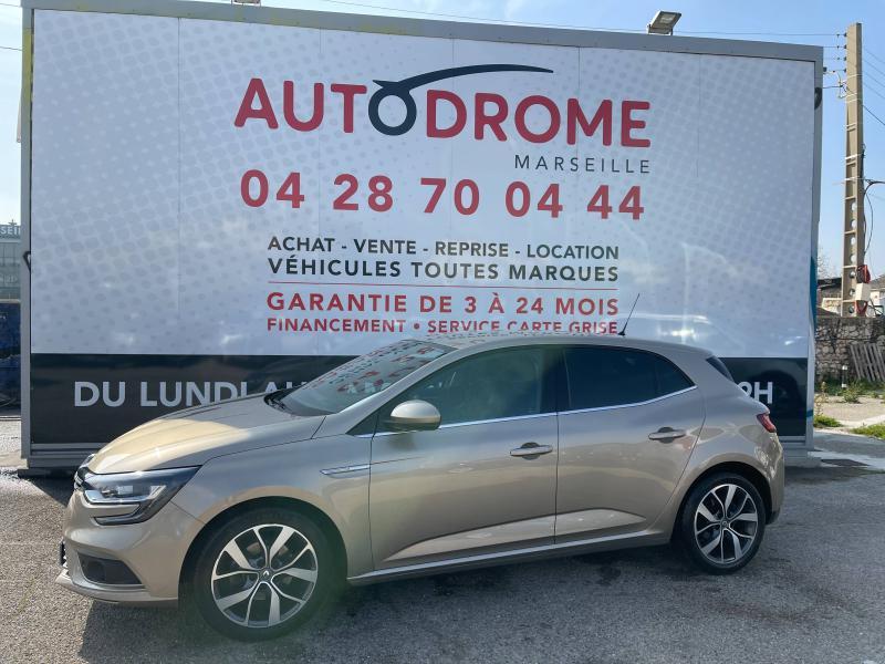 Renault Megane IV 1.2 TCe 130ch Intens EDC (Megane 4) - 41 000 Kms Beige occasion à Marseille 10 - photo n°4