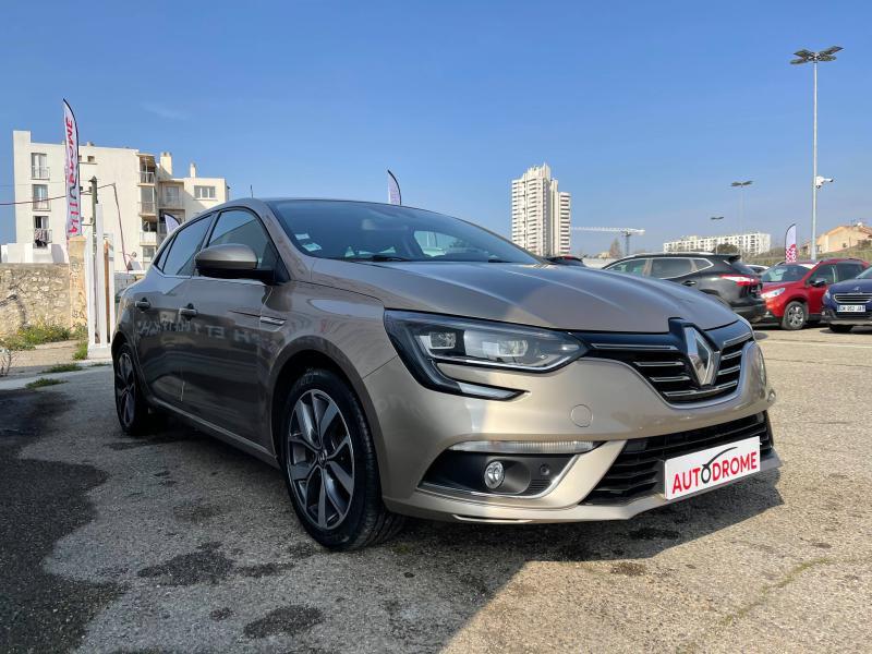 Renault Megane IV 1.2 TCe 130ch Intens EDC (Megane 4) - 41 000 Kms Beige occasion à Marseille 10 - photo n°3