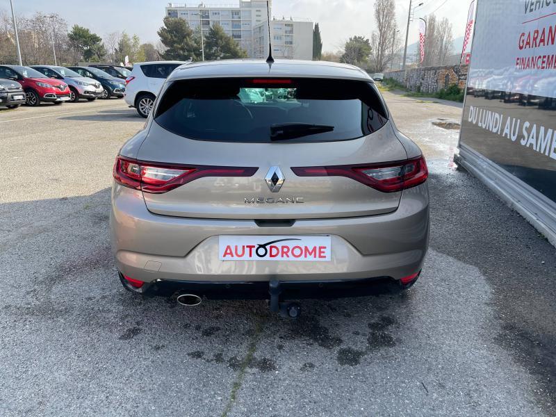 Renault Megane IV 1.2 TCe 130ch Intens EDC (Megane 4) - 41 000 Kms Beige occasion à Marseille 10 - photo n°7