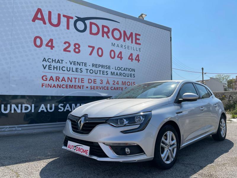 Renault Megane IV 1.5 Blue dCi 115ch Business (Megane 4) - 11 000 Kms Gris occasion à Marseille 10