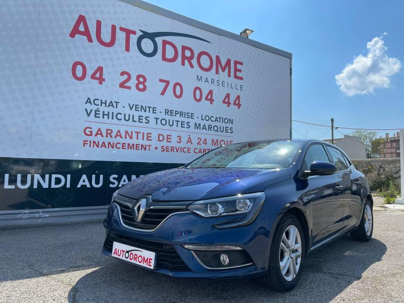 Renault Megane IV 1.5 Blue dCi 115ch Business (Megane 4) - 12 000 Kms Bleu occasion à Marseille 10