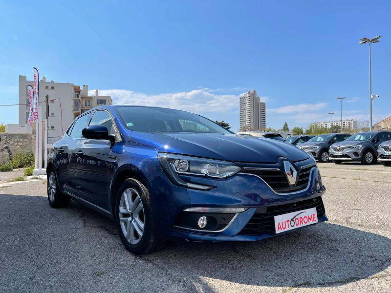 Renault Megane IV 1.5 Blue dCi 115ch Business (Megane 4) - 12 000 Kms Bleu occasion à Marseille 10 - photo n°3