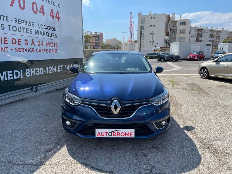 Renault Megane IV 1.5 Blue dCi 115ch Business (Megane 4) - 12 000 Kms Bleu occasion à Marseille 10 - photo n°2