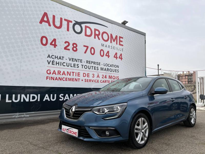 Renault Megane IV 1.5 dCi 110ch Business EDC (Megane 4) Bleu occasion à Marseille 10