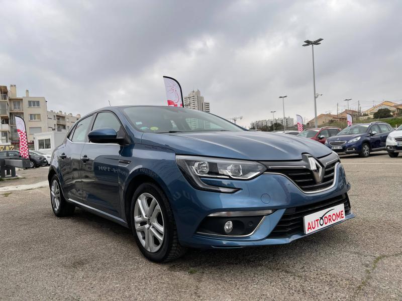 Renault Megane IV 1.5 dCi 110ch Business EDC (Megane 4) Bleu occasion à Marseille 10 - photo n°3