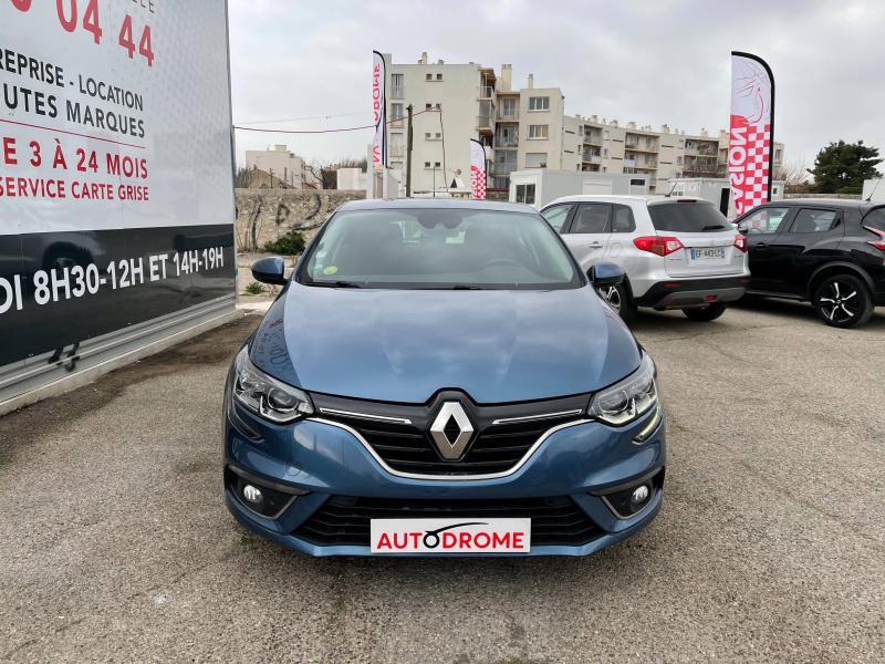 Renault Megane IV 1.5 dCi 110ch Business EDC (Megane 4) Bleu occasion à Marseille 10 - photo n°2