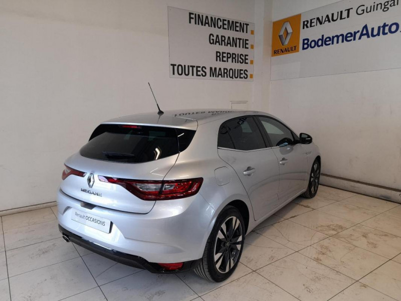 Renault Megane IV BERLINE Blue dCi 115 EDC Intens Gris occasion à PLOUMAGOAR - photo n°4